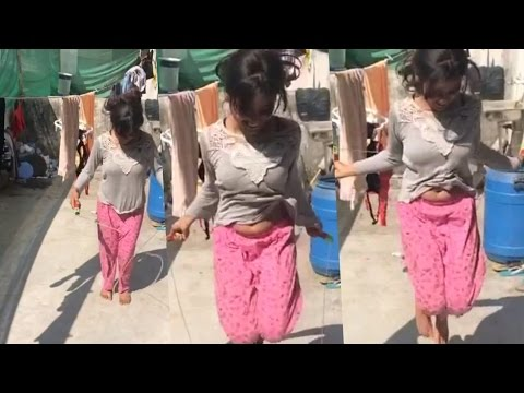 RVCJ || Girl Boob Up Down sexy Dance On Bhojpuri Song || thumbnail