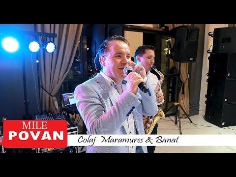 Mile Povan Live-Colaj Maramureş&Banat || Când m-o făcut mama-n lume || Oameni faini si lume multa