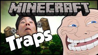 Minecraft: Trolling Little Kids | #27 (Tripwire Hook Traps)