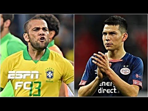 Dani Alves to rejoin Pep Guardiola at Man City? Chucky Lozano to Napoli? | Transfer Rater