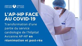Transformation d'une partie du service cardiologie de l'hôpital Avicenne en réanimation et post-réa