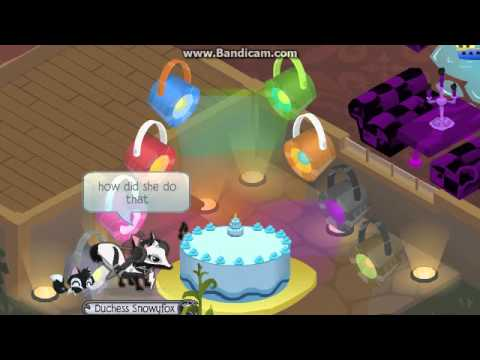 Animal jam second birthday cake SECRET YouTube