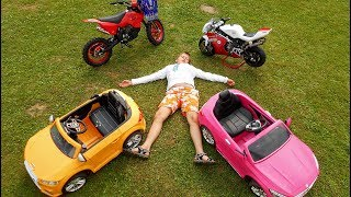 Funny Baby Ride on New Dirt Cross Bike Mini Power Wheel Pocket Bike, Sportbike, Mini Cars Collection