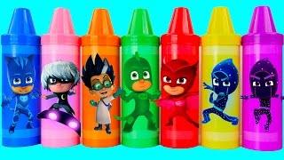 Masks PJ giant crayons