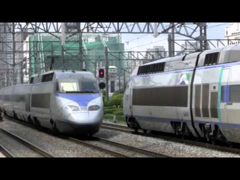 KTX From Seoul to Busan