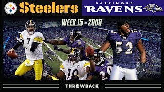 Epic Rivalry with EVERYTHING on the Line! (Steelers vs. Ravens 2008, Week 15)