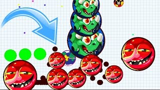 Agar.io Fastest Take Over With Best Team Mobile Domination Agario Best/Funny Moments!
