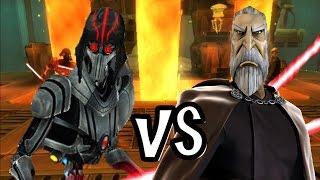 Lightsaber Duels Jedi Hunter Droid v Count Dooku