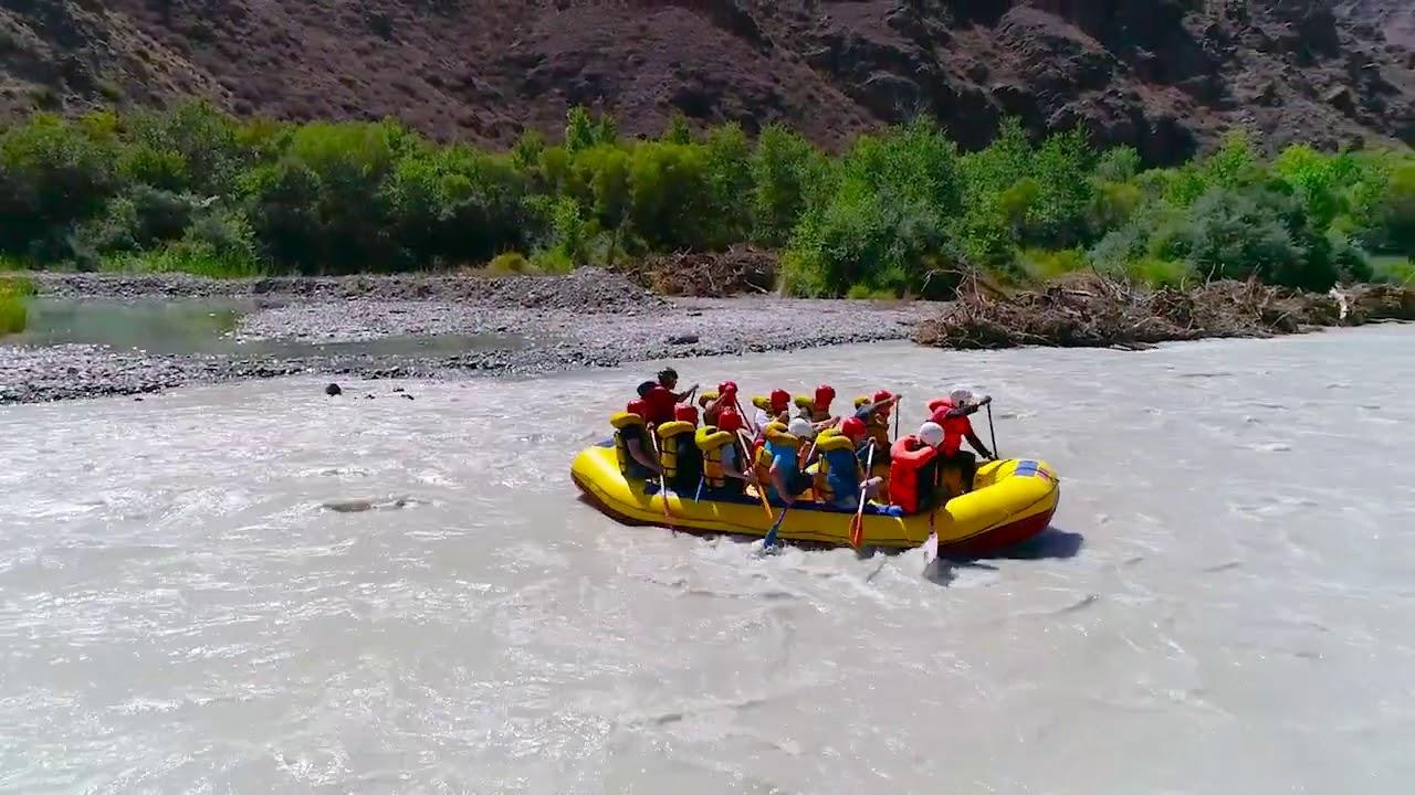Воскресный сплав с реки Чарын