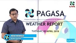 Public Weather Forecast Issued at 4:00 AM April 2, 2019
