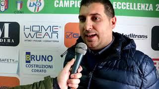 Corato Calcio, Zagaria: «Per Fasano non sarà una passeggiata»