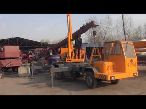 Jining Sitong Truck Crane-4 ton truck crane can lift 2 ton at 11m