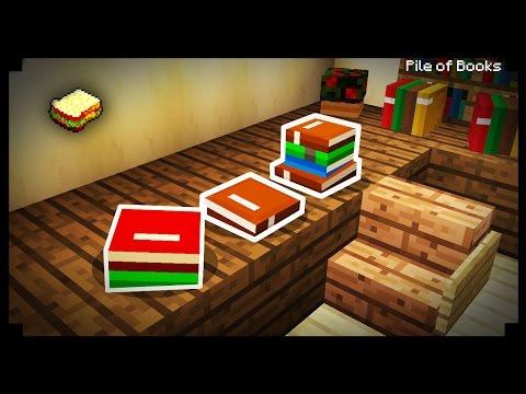 \( ͡° ͜ʖ ͡°)ノ Minecraft: How to make a Pile of Books