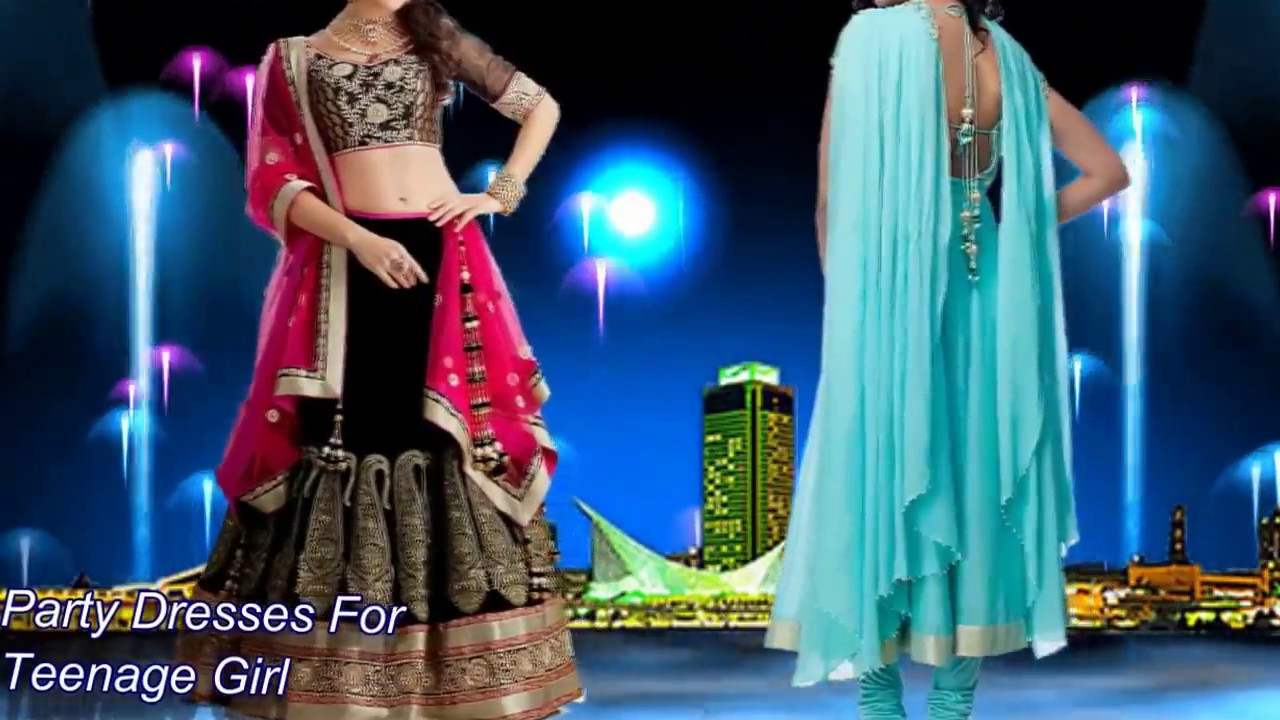 Party dresses for teenage girl india | Latest Fashion channel - YouTube