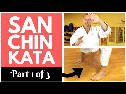 SANCHIN KATA SECRETS (1/3): History, Feet & Knees — Jesse Enkamp
