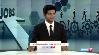Ways to know job opportunities in Foreign countries 1/4 | Kalviyum Velai Vaippum | News7 Tamil |