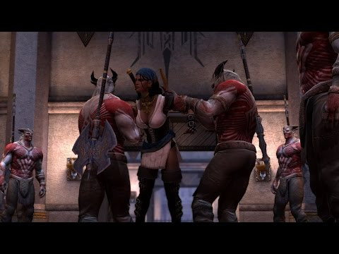Dragon Age II — Отдаём Изабелу кунари