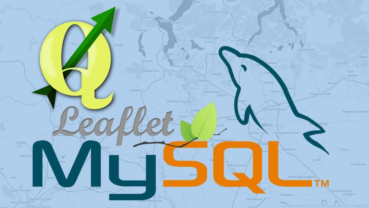 QGis, MySQL e LeafletJS