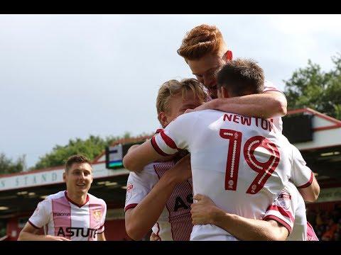 HD HIGHLIGHTS | Stevenage 3-3 Newport County | League Two 2017/2018