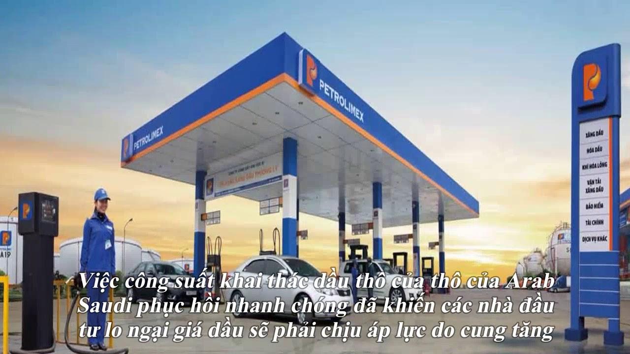 Giá xăng dầu hôm nay 1/10: Giảm mạnh hơn 3% do sản lượng khai thác của Arab Saudi đã phục hồi