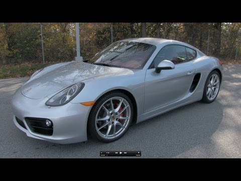 2014 Porsche Cayman S Start Up, Exhaust, and In Depth Review