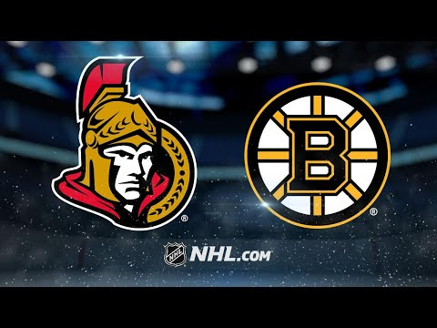 Big 2nd period helps pace Bruins past Senators, 5-2