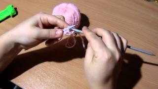 Уроки вязания спицами- Ажурный узор 1