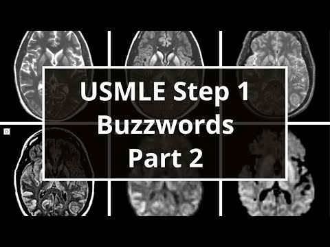 USMLE Step 1 Buzzwords (Part 2)