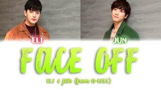 Face Off - U-KISS Eli & Jun (KANJI, ROM, ENG/Color Coded)