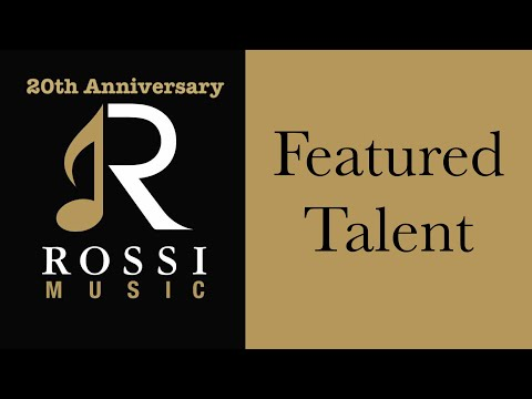 Rossi Music Wedding and Corporate Entertainment for Hire in Los Angeles (Band Sampler)