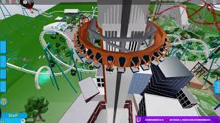 I Rode The CRAZIEST Rollercoaster dans tout Roblox! (Roblox Point)
