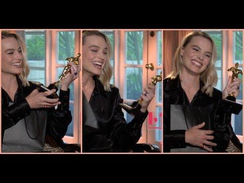 "Margot Robbie wins ""Oscar"" for her role in I, Tonya"