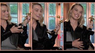 Margot Robbie wins