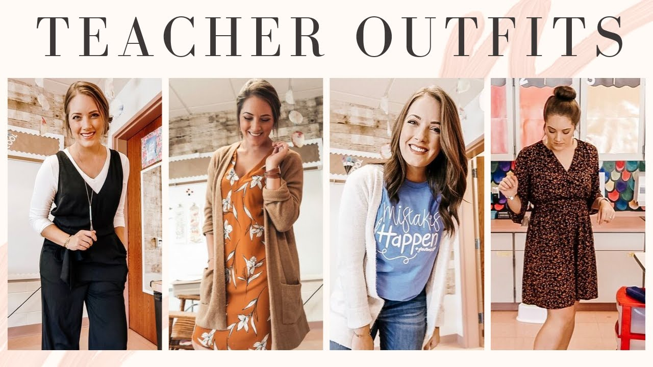 TEACHER OUTFITS OF THE WEEK!!