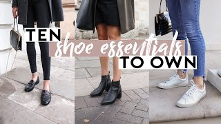 10 ESSENTIAL SHOES EVERY WOMAN SHOULD OWN: Minimalist Wardrobe Basics 101 Shoe Guide | Mademoiselle
