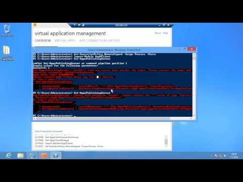 Installing and configuring App-V 5.0 Client - Session 3