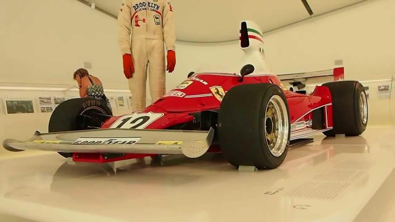 F1 Ferrari 312 T 1975 Driven By Niki Lauda Museum Enzo