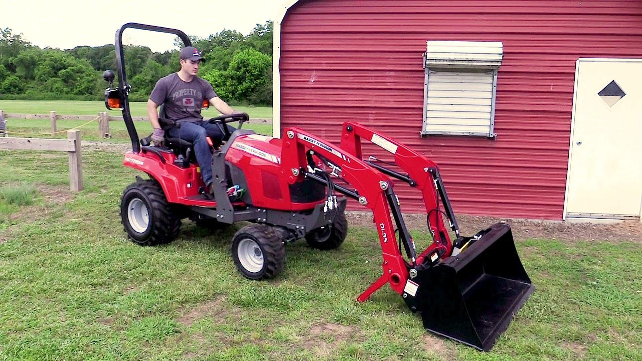 Massey Ferguson GC1725MB Sub-Compact Tractor Loader Backhoe