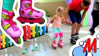 РОЛЛЕРДРОМ - Учимся кататься на роликах с инструктором - Rollerdrom How learn roller skate