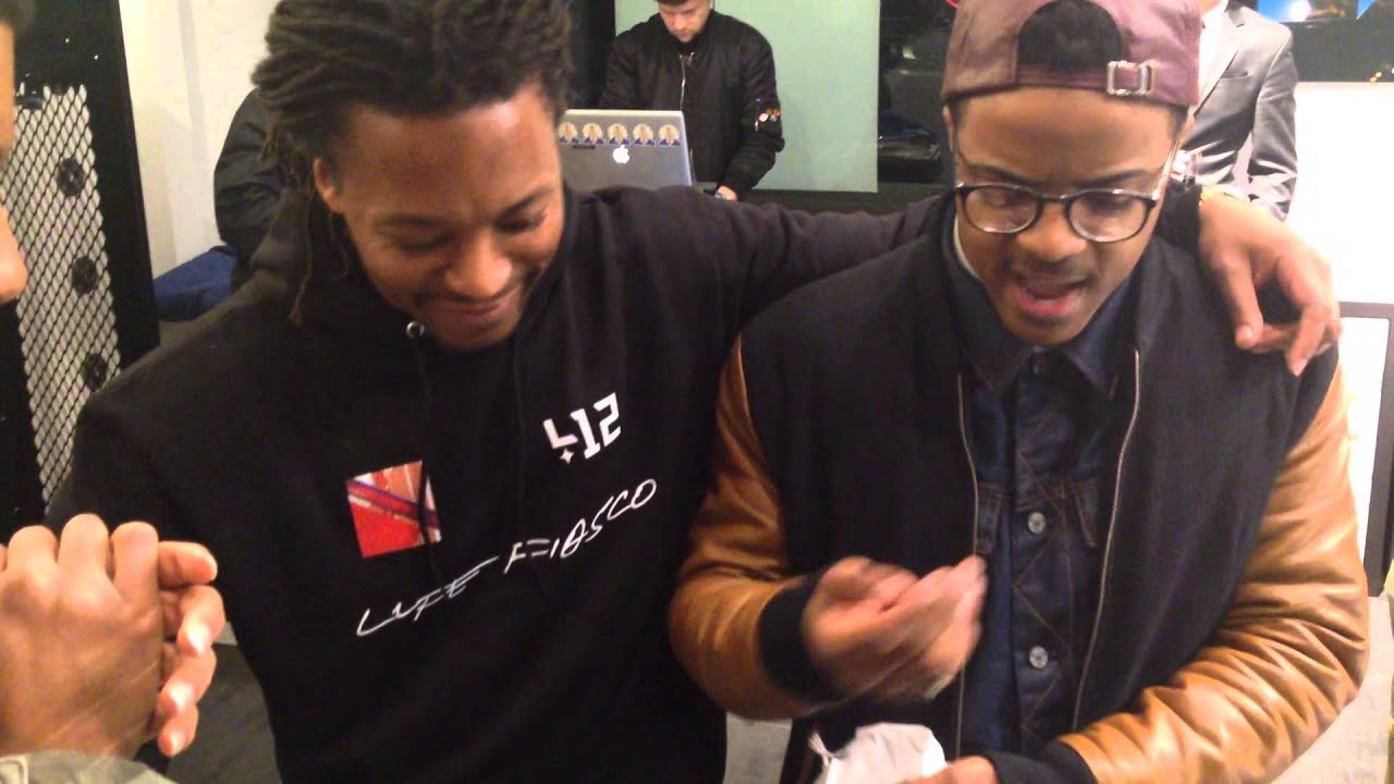 Justin Emmanuel Freestyles For Lupe Fiasco Youtube