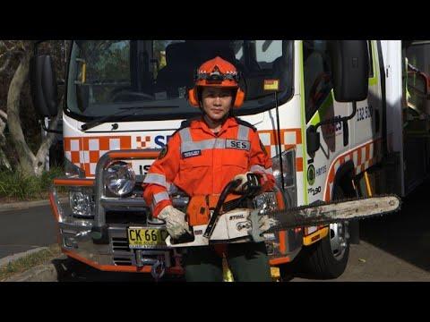International Women's Day: Portrait: Australian emergency worker