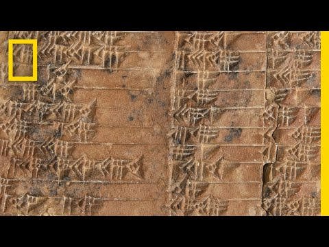 Solving an Ancient Tablet's Mathematical Mystery | National Geographic