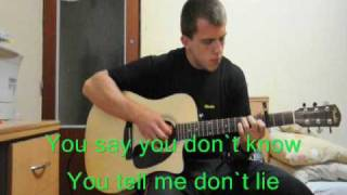 Daniel Powter - Bad day (acoustic karaoke)