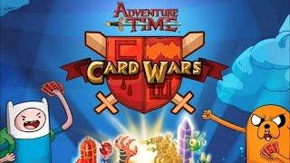 Card wars - adventure time - #1(на русском)
