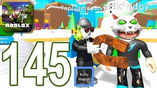 ROBLOX - Gameplay Walkthrough Part 145 - Magnet Simulator (iOS, Android)