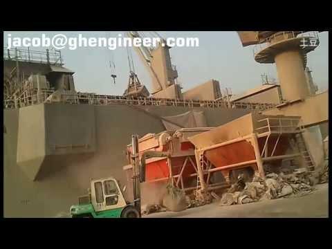 tolva granel para puertos y mineral