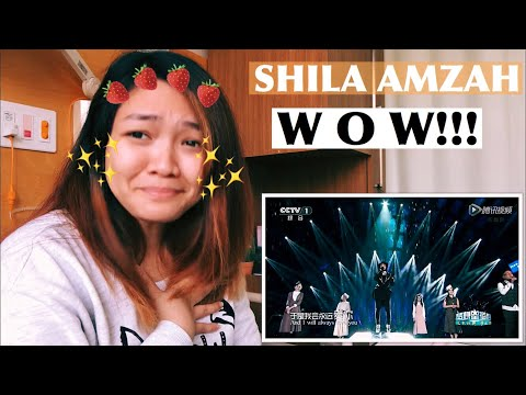 Shila Amzah - I Will Always Love You! Reaction | moniiquee