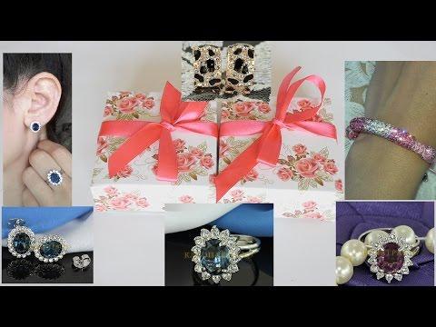 Новая коллекция серебряных колец с драгоценными камнями | 925 Silver jewellery