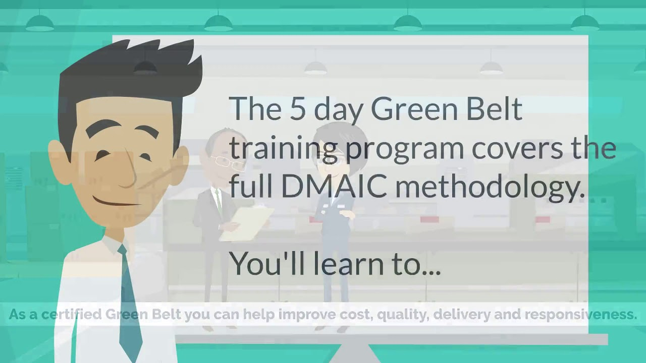 Lean Six Sigma Green Belt Charlottesville Va Youtube