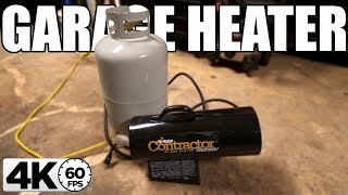 YOU WILL WANT THIS INEXPENSIVE GARAGE HEATER!!